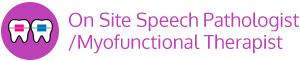 Onsite Speech Myofunctional Therapist vertical button Marda Loop Braces Calgary AB